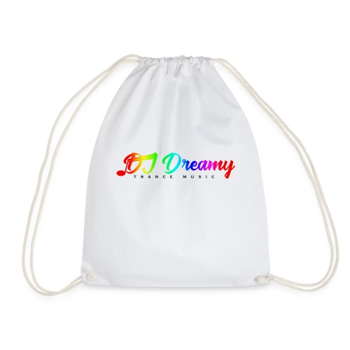 DJ Dreamy Logo PNG Gradient 1 - Drawstring Bag