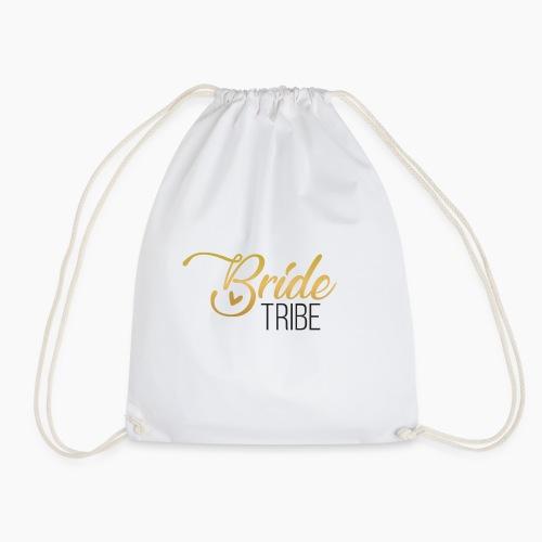 Bride Tribe - lettering for team bride - Drawstring Bag