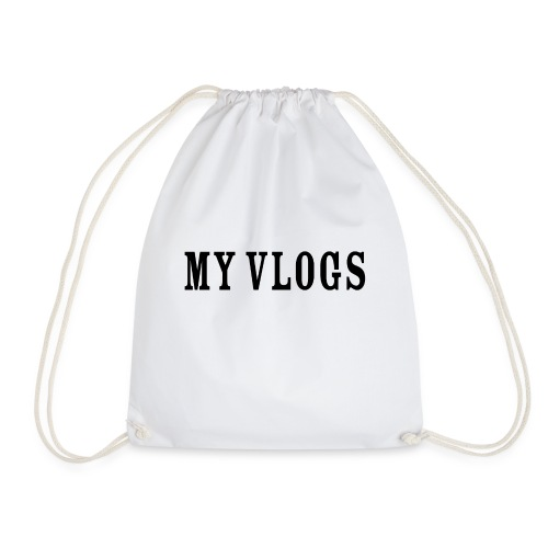 My Vlogs - Drawstring Bag