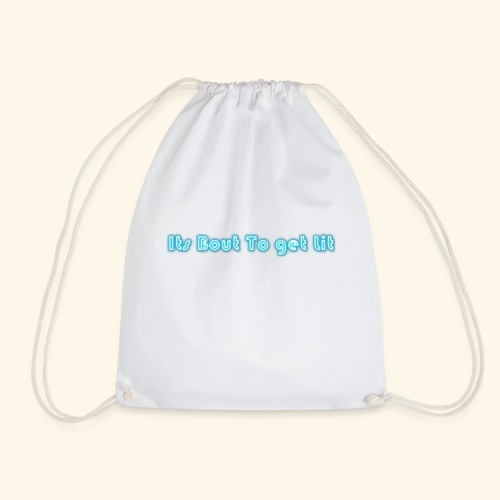 MY SLOGAN - Drawstring Bag