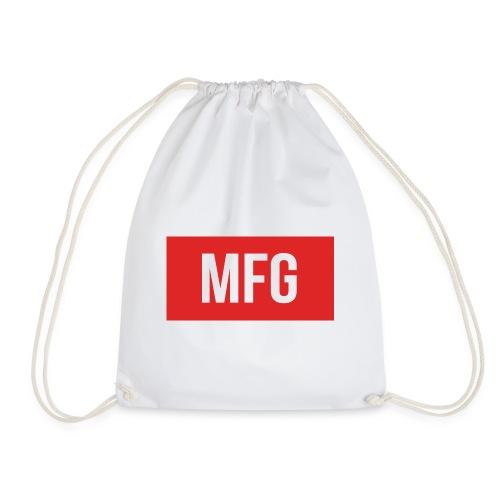 MFG on Youtube Logo - Drawstring Bag