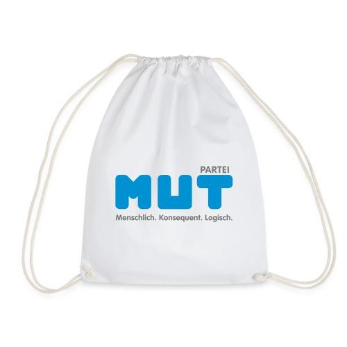 mut Partei Logo - Turnbeutel