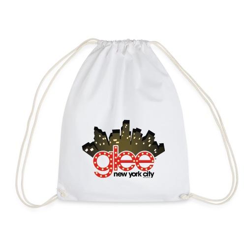 Glee Logo New York Skyline - Turnbeutel