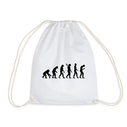 Development of the smartphone zombie / smombie - Drawstring Bag