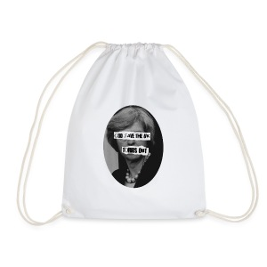TORIES out - Drawstring Bag