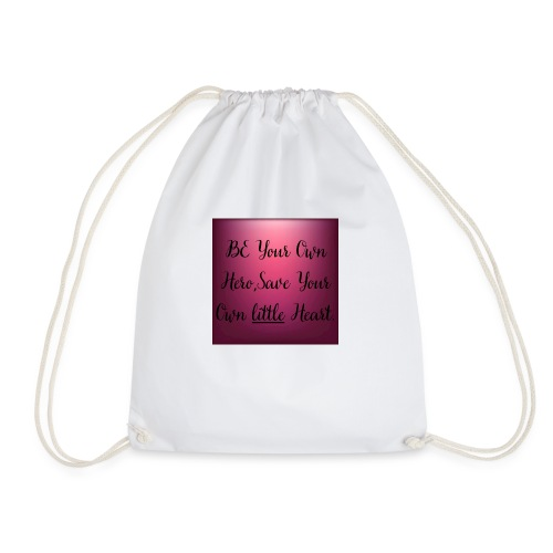 A true quote to wear around. - Drawstring Bag