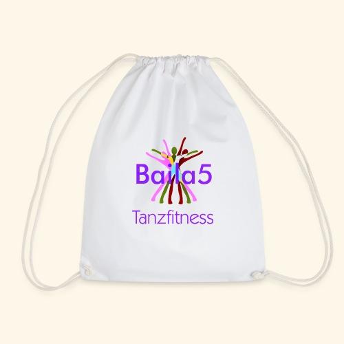 Baila5 Tanzfitness violet - Turnbeutel