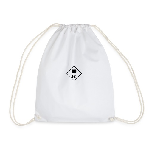 TRIANGLE DESIGN - Drawstring Bag