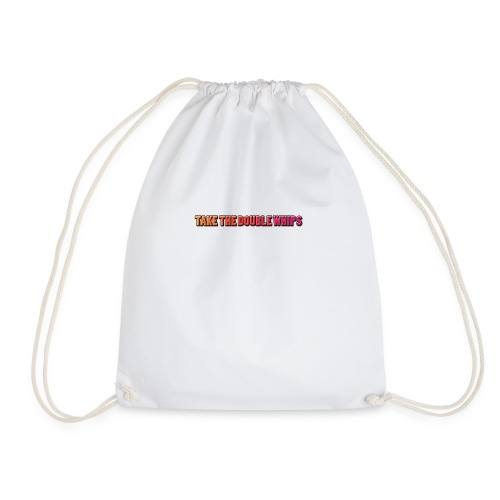 TAKE THE DOUBLE WHIPS ICON - Drawstring Bag