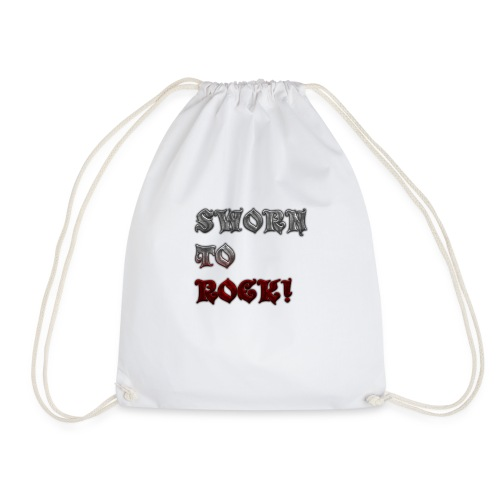 SWORN TO ROCK CLOTHING AND ACCESORIES - Drawstring Bag