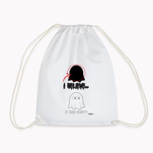 Lokey Reviews Official Spooky Ass Sunday Design - Drawstring Bag