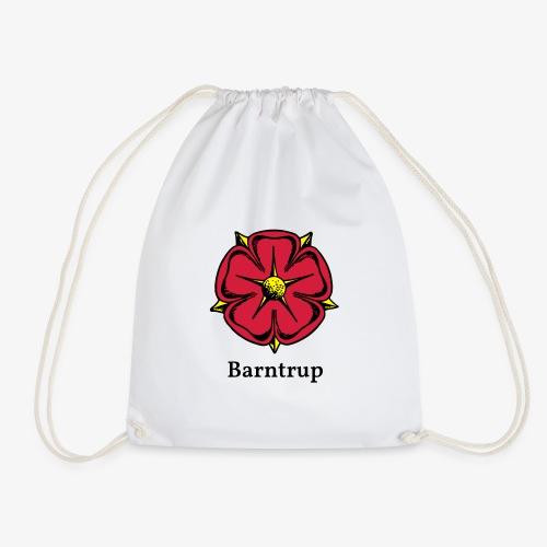 Lippische Rose mit Unterschrift Barntrup - Turnbeutel