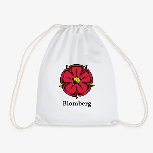Lippische Rose mit Unterschrift Blomberg - Turnbeutel