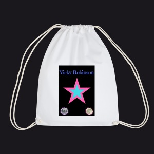 vic symbol - Drawstring Bag