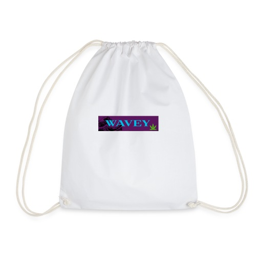 Wavey Yute - Drawstring Bag