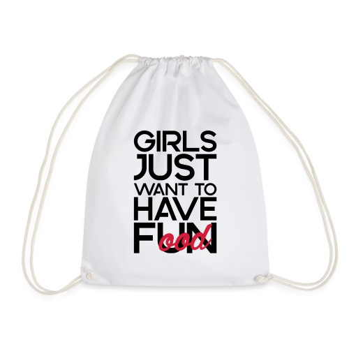 Girls just want to have food - Gymtas