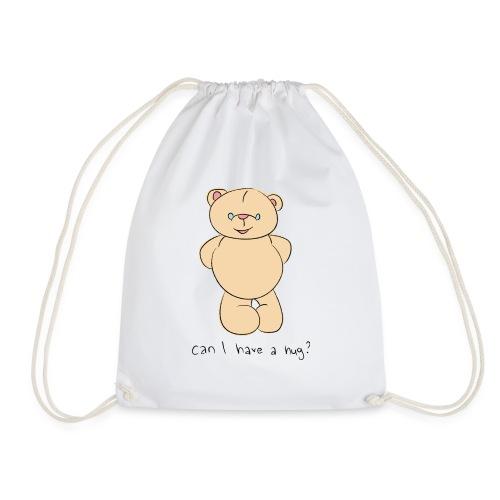 Bear hug - Drawstring Bag