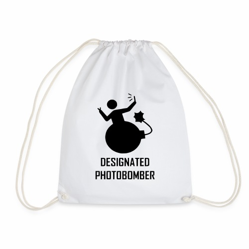 Designated Photobomber - Drawstring Bag