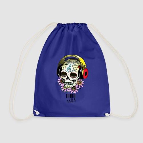smiling_skull - Drawstring Bag
