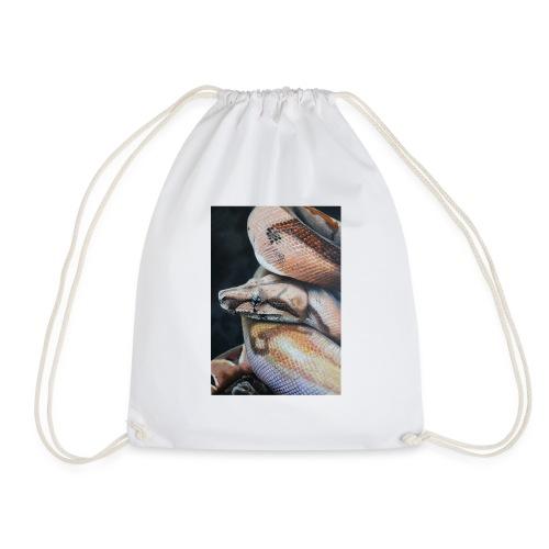 boa constrictor suriname acrilico su tela 50x70 - Sacca sportiva