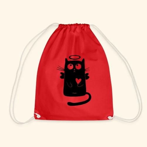 Gato angelical - Mochila saco