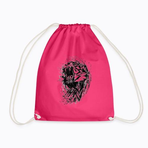 tiger bengal - Drawstring Bag