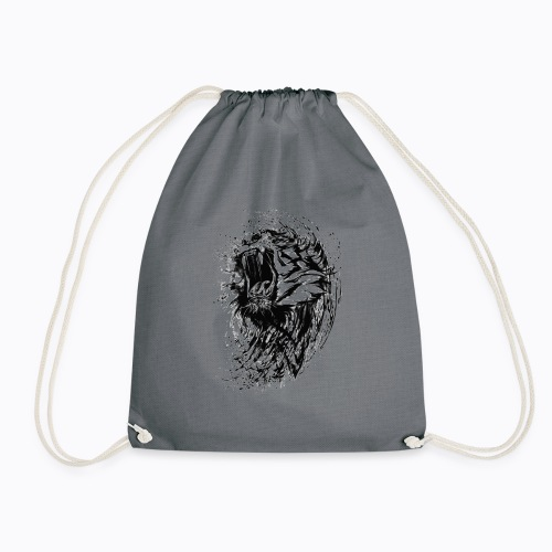 tiger bengal - Drawstring Bag