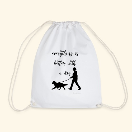 Dog walking - Turnbeutel