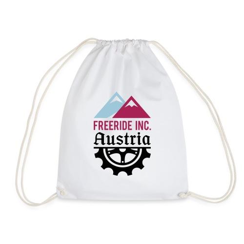 Freeride Inc. Austria Logo 2020 2.0 - Turnbeutel