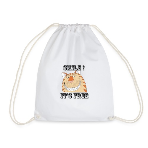 Smile 2 - Drawstring Bag