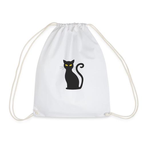 Schwarze Katze!!! - Turnbeutel