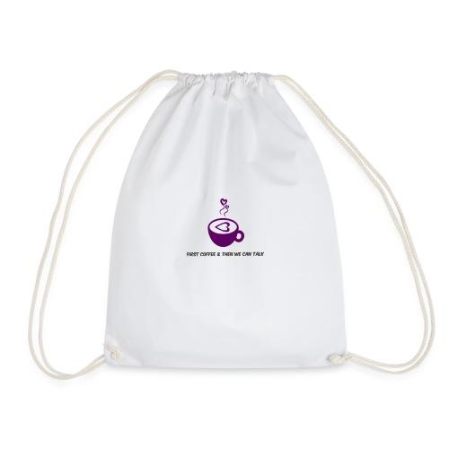 Coffee lovers - Drawstring Bag