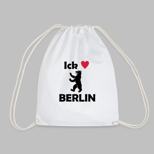 Ick liebe ❤ Berlin - Turnbeutel