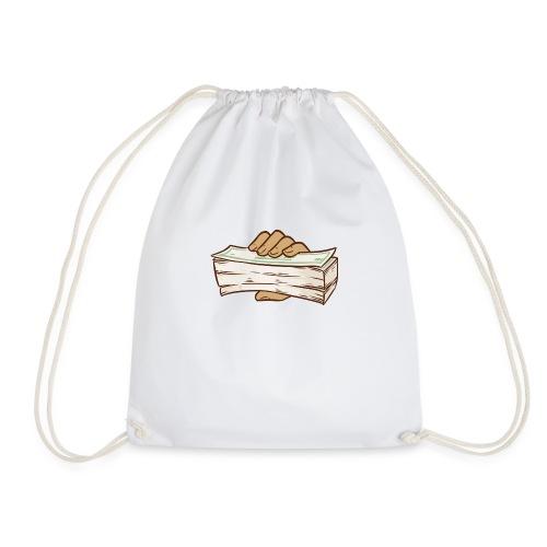 BANDZ All White Everything Tee - Drawstring Bag
