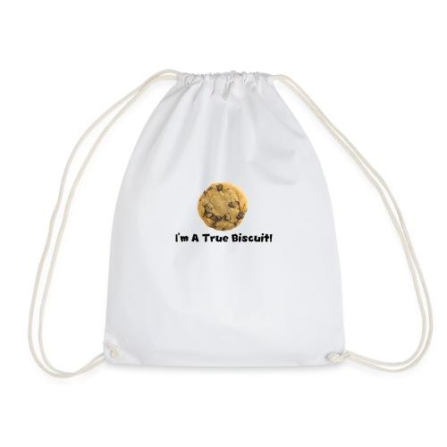 True Biscuit - Drawstring Bag