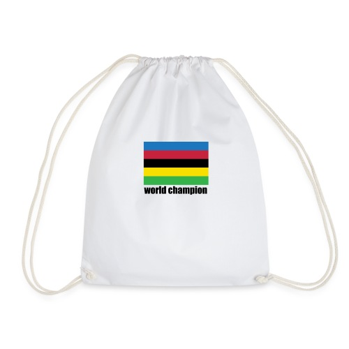 world champion cycling stripes - Gymtas