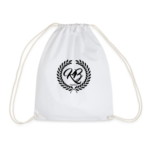 Logo_en_negro_trasparente - Drawstring Bag