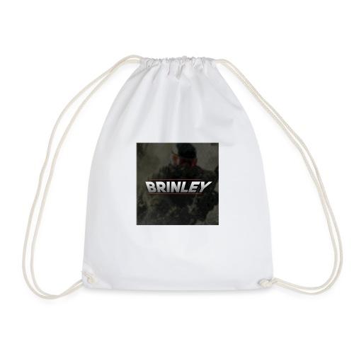 HypersonicBrinleyLogo - Drawstring Bag