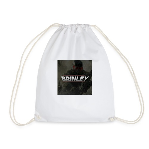 HypersonicBrinleyLogo - Drawstring Bag
