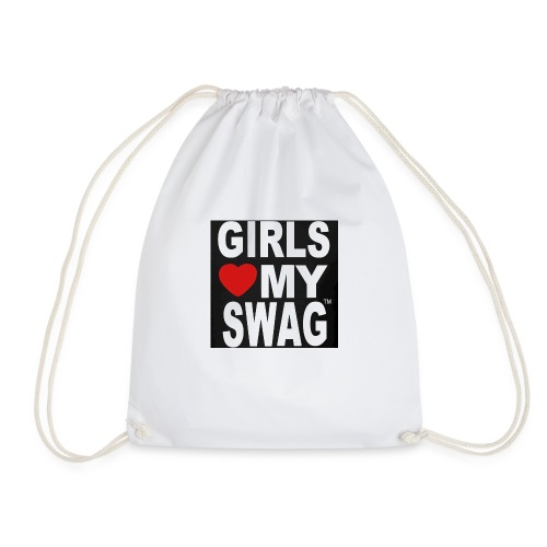 GIRLS LOVE MY SWAG T-SHIRT - Turnbeutel