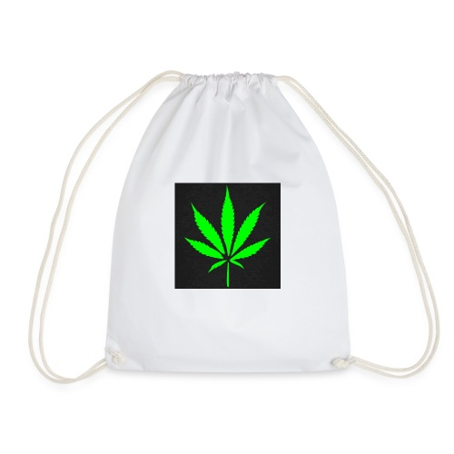 schwarz cannabis marihuana hanf t shirt maenner t - Turnbeutel