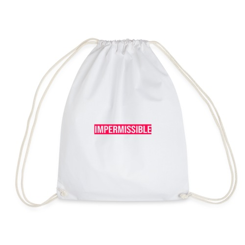 Impermissible - Drawstring Bag