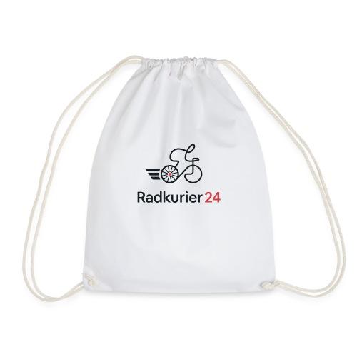 Radkurier24 Logo - Turnbeutel