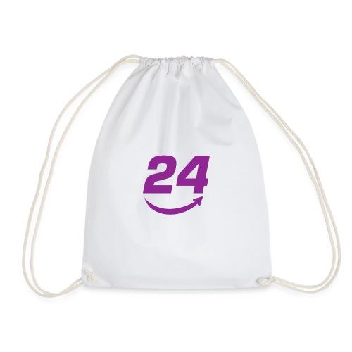 HorseDeal24 Logo Violett - Turnbeutel