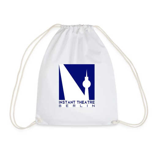 Instant Theater Berlin logo - Drawstring Bag