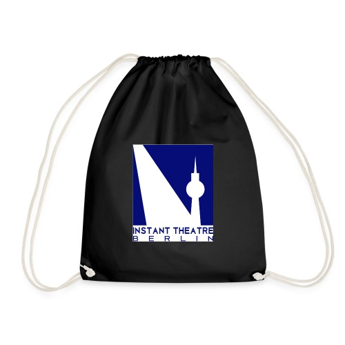 Instant Theater Berlin logo - Drawstring Bag