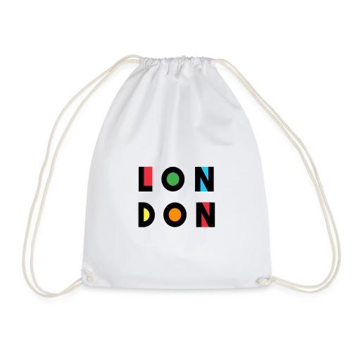 Vintage London Souvenir - Retro Modern Art London - Turnbeutel