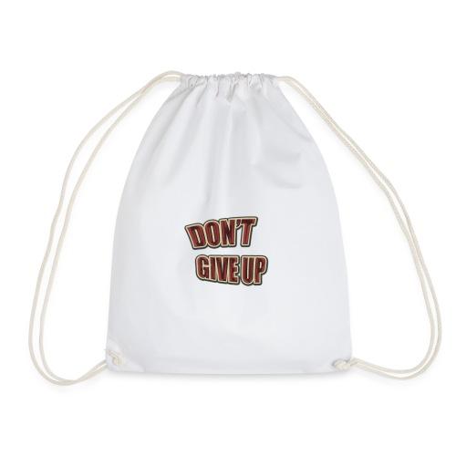 Don't Give Up - Mochila saco