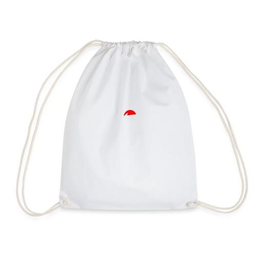 Basketball Silouette Christmas - Drawstring Bag