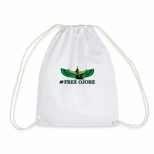 Maa-t green - Drawstring Bag